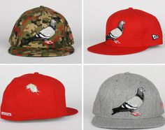 Staple Design x New Era 59FIFTY Fitted Caps – Fall 2012