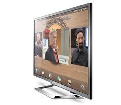 First LG WebOS TV #CES2014