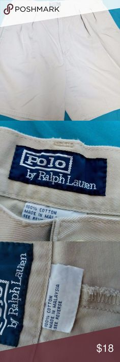 Mens Ralph Lauren Classic Shorts size 36 Welcome! We specialize in providing our customers with high end, name brand designer clothing garments at a fraction of the price. We Strive for Excellence and our #1 Goal is to make our Customer's Happy!  Brand: Polo Ralph Lauren- Condition: This item is in used condition.  There are NO Major Flaws with this item, and is free and clear of any Noticeable Stains, Rips, Tears or Pulls of fabric. Overall This Piece Looks Great and you will love it at a…
