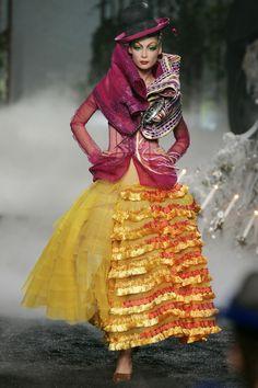 John Galliano for Christian Dior Fall Winter 2005 Haute Couture