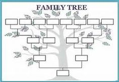 Family Tree Template   29+ Download Free Documents In PDF, Word, PPT .