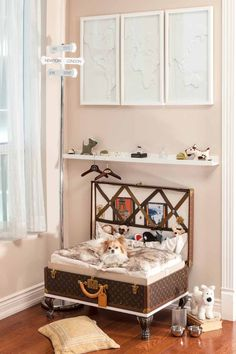 Does your dog have a personal space? http://montecristotravels.com/a-travel-dogs-room-revealed/