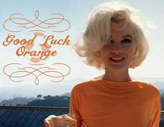 Good Luck Orange