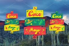 Cinco De Mayo Banner by barsrsind on @creativemarket
