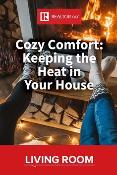 Put a freeze on rising heating costs, and keep comfortable and cozy this winter. Get tips for efficient home heating on REALTOR.ca Living Room. #energyefficienthomes #heating #winterize #staywarm
