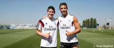 Cristiano and James.