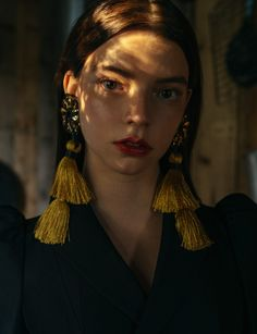 """midnight-charm: """" Anya Taylor Joy photographed by Paul McLean for The Hunger Magazine Fashion Editor: Anna Hughes-Chamberlain Makeup: Andrew Gallimore """""""
