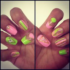 .@WAH Nails | WAH cutie Kim  has done these amazing cut out nails using @FLOSS GLOSS LTD polish!...