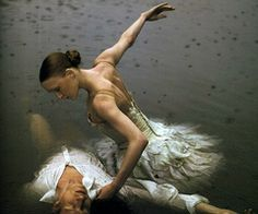 Ballerinas in water. Doesn't get more beautiful then that.