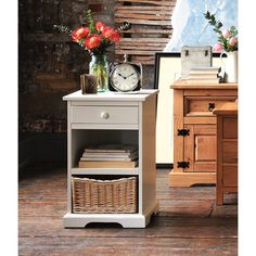 Solid Wood Chests of Drawers in Oak, Pine & Painted Styles - The Cotswold Company Bedroom Drawers, Bedroom Furniture, Wooden Furniture, Spare Room Office, Painted Side Tables, Modern Chest Of Drawers, Drawer Storage Unit, Dressers For Sale, Bedside Cabinet