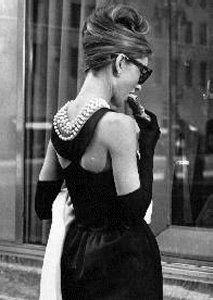 """Audrey Hepburn in """"Breakfast at Tiffany's"""", 1946 #actor"""
