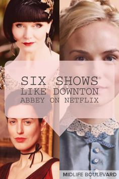 netflix movies Updated May If you love Downton Abbey, you want to watch other shows with a Netflix Shows To Watch, Good Movies On Netflix, Tv Series To Watch, Netflix Series, Netflix Channels, Netflix Hacks, Skylar Grey, Period Drama Movies, Period Dramas
