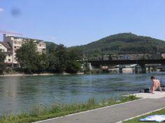 Aare river in Olten