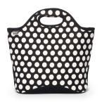 Black and White Big Dot Market Tote Bag, Women's, Multi