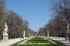 Paseo de las Estatuas, visitado