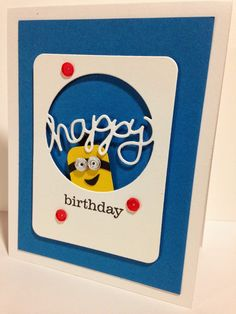 Cupcakes, Cards and Kim: One more card for the day.....