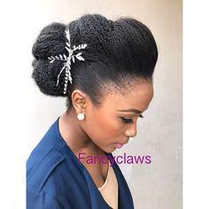 Black Hair Updos for Weddings In 2020 Inspiring Wedding Hairstyles for Natural Black Hair Gallery Natural Hair Wedding, Natural Hair Updo, Natural Hair Styles, Black Hair Updo Hairstyles, African Hairstyles, Wedding Hairstyles, Hairstyle Ideas, Marley Hair, Bridal Braids