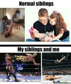 #WWE Siblings