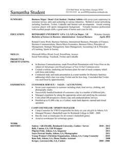 ru sample functional resume