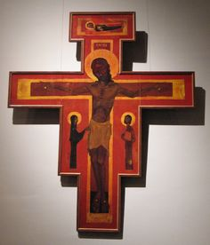 Taize cross. Sometimes a service includes prayer around the cross. Touching the cross and, laying your cares upon Jesus.