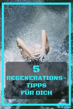 Regenerationstipps für dich #regeneration #erholung #training #tri #triitfit #triathlon #workout #fitness #wellness