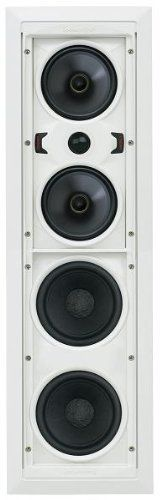 Speakercraft AIM Cinema One Pivoting In-wall Cinema Speaker - Each (White) by SpeakerCraft. $369.00. The AIM CINEMA One features a pivoting sub-baffle for mid-bass, mid-range, and high frequencies. Below that are two high performance 6-inch paper cone woofers on a separate stationary subbaffle to increase output and extend the low frequencies. These loudspeakers are perfect for high-performance sound reproduction as a stereo pair or left and right of a video disp...