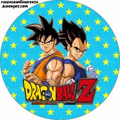 Dragon Ball Z: Free Printable Candy Bar Labels. Manga Dragon, Dragon Z, Printable Birthday Banner, Happy Birthday Banners, Dragon Ball Z Shirt, Dragon Ball Gt, Goku Birthday, 10th Birthday, Birthday Parties