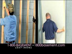 Owens Corning Basement Finishing System. #basementideas www.1800basement.com/video-gallery