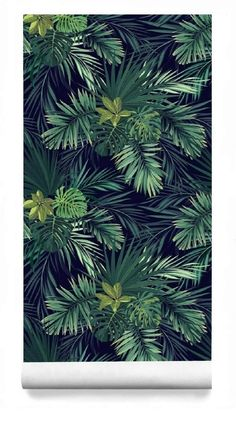 Tropical Palm Wallpaper, Dark Leaf Wall Mural Removable, Wallpaper Peel & Stick Mural, Temporary Wallpaper, Self Adhesive Wall Paper Tropische palme tapete dunkles blatt fototapete abnehmbare Wallpaper Wall, Temporary Wallpaper, Bathroom Wallpaper, Self Adhesive Wallpaper, Peel And Stick Wallpaper, Pattern Wallpaper, Green Leaf Wallpaper, Tropical Wallpaper, Wallpaper Ideas
