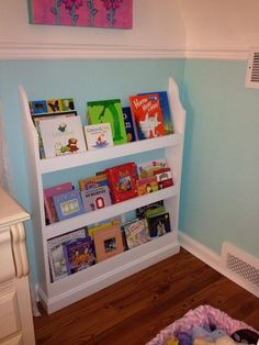How to create a cozy reading nook for your little one reading flat wall book shelf do it yourself home projects from ana white solutioingenieria Image collections