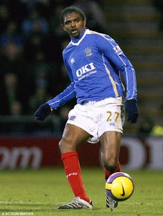 Kanu Portsmouth, Premier League, The Championship, Fa Cup, Football, Club, Running, Sports, Legends