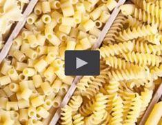 Video - Pastasorten von A bis Z Mini Muffins, Dessert, Snacks, Pasta Salad, Cereal, Vegetables, Breakfast, Ethnic Recipes, Foods