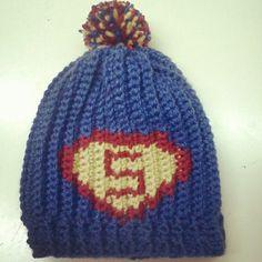 Superhero crochet pattern