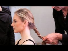 Learn how to manage long hair in the heat from Pierre Michel Salon style director Jerome Lordet in this Howcast hair tutorial. Long Hair With Bangs, Long Hair Cuts, Long Hair Styles, Popular Hairstyles, Hairstyles With Bangs, Curl Enhancing Smoothie, Round Hair Brush, Hair Growth Tips, Salon Style