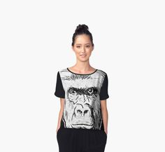 Harambe Face T-Shirt