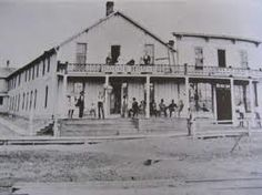 The Dodge House in Dodge City Kansas where Doc Holliday stayed in room # 24 and practiced dentistry in June of 1878.