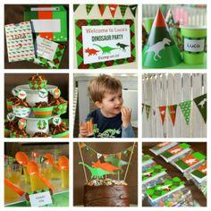 A Dynamite Dinosaur Birthday Party Birthdays Dinosaur birthday