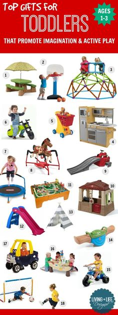 Top Gifts For Toddlers 1 3 Years Old Best Toddler Toys