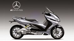 Scooter AMG XTR-1 by Oberdan Bezzi: Mercedes all'assalto di Yamaha e BMW?