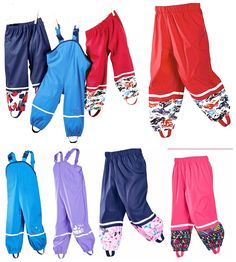 Spring and autumn new children girls export Boys PU leather poncho rain pants waterproof windproof breathable outdoor Trousers Kids Overalls, Rain Pants, Kids Girls, Boys, Outdoor Pants, Cyber Monday, Black Friday, Pu Leather, Trousers