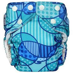 I wish they had this print when my son was in diapers! He would have been Jonah in the whale print diaper :)
