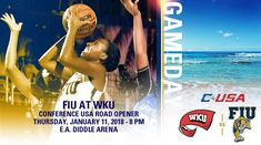 First Road C-USA Game for @FIUWBB Thursday at WKU