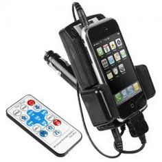 FM Transmitter and Car Charger for iPhone