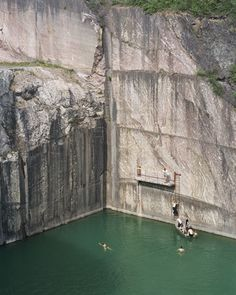 Marble Quarry, by Bas Princen Stone Quarry, Landscaping Retaining Walls, Architectural Photographers, Small Buildings, Land Art, Landscape Architecture, Installation Art, Art Photography, Exterior