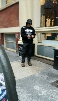 #RayBanMan  in #NYC  6/1/15