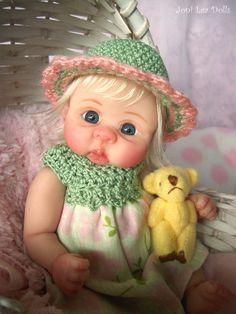 "❤OOAK  BABY GIRL ""CLEMENTINE""  BY JONI LEA * DOLLY-STREET❤  #Oneofakind"
