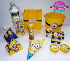 Kit Personalizados Minions