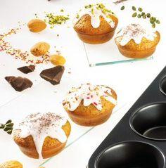 Zitronen-Mohn-Muffins (6 Stück)