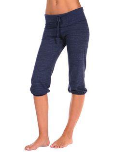 Yoga-Clothing.com - Eco-Heather Cropped Pants