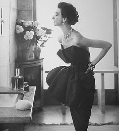 (via Dior, 50s woman by glamouramour on deviantART)